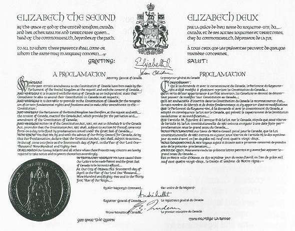 Opinions on Constitution of Canada