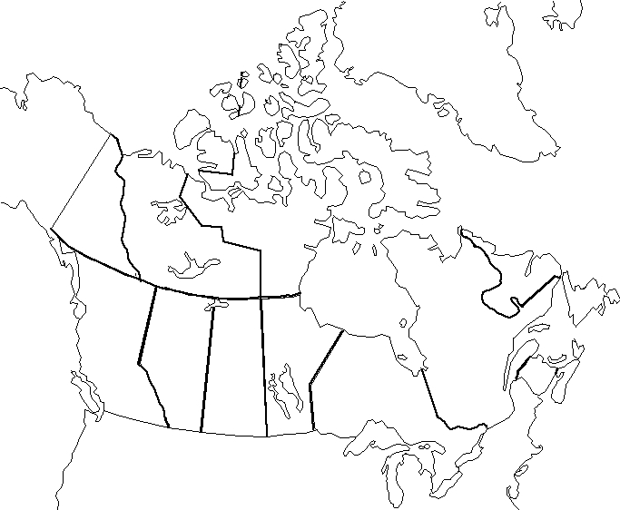 CanadaInfo Images Downloads Fact Sheets To Download Maps - Blank us political map